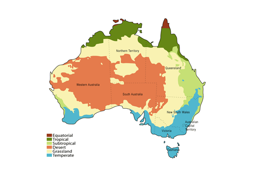 Australian climatic zones - The worlds biggest rooftop farm nature reclaims its territory ...