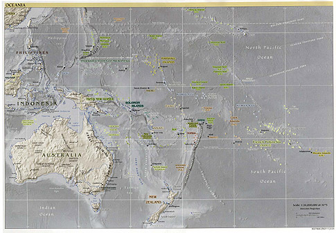 map of papua new guinea and australia. Papua New Guinea and the