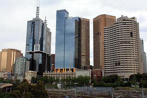 Melbourne Cbd Buildings Photo