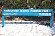 Whitsunday Island Sign photo