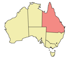 Queensland Australia Map.Queensland Map Photos And Information