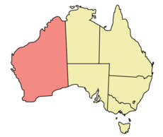 Western Australia Map Photos And Information - Map of western australia