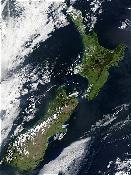 new zealand winter satellite image