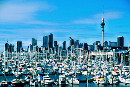 Auckland New Zealand photos