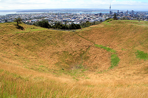 Mount Eden Volcano photo
