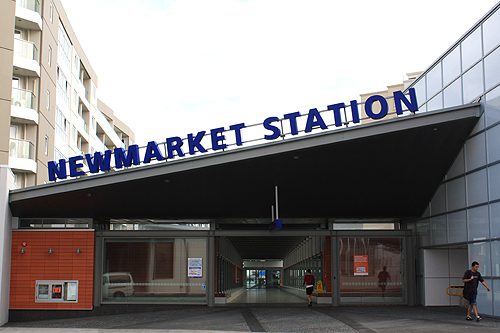 Newmarket Station Auckland photo