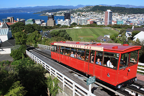 Wellington Cable Car: Wellington Cable Car View Photo