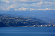 Wellington Harbour & Mountains