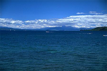 View Of Lake Taupo Photo