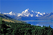 Mt Cook & Lake photo