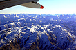 Plane View of Southern Alps photo