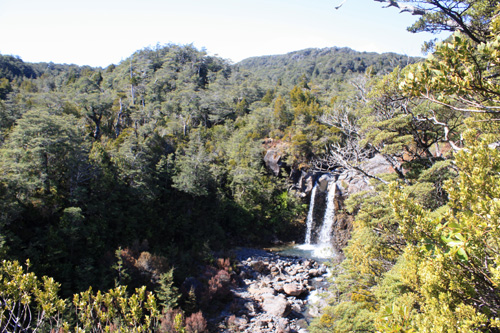Mangawhero Falls Ruapehu photo