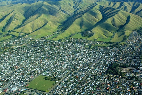 Aerial view of Blenheim photo