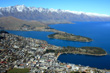 View of Queenstown from Bob's Peak photo