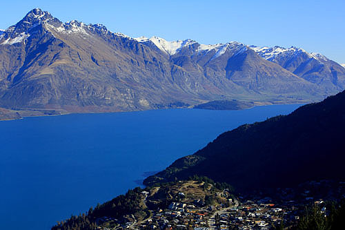 View of Lake Wakatipu photo