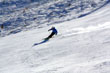 Skier on Coronet Peak photo