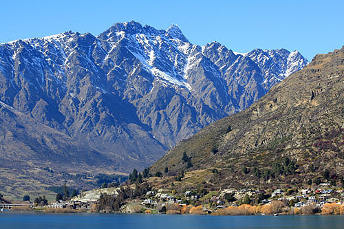 Frankton Arm and Remarkables photo