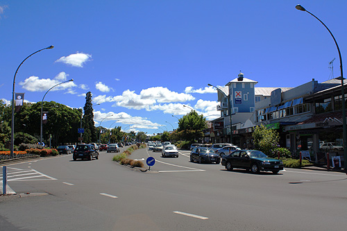 tongariro street taupo photo