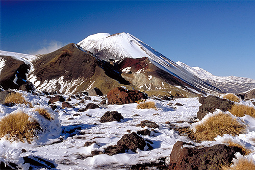Red Crater Tongariro. photo