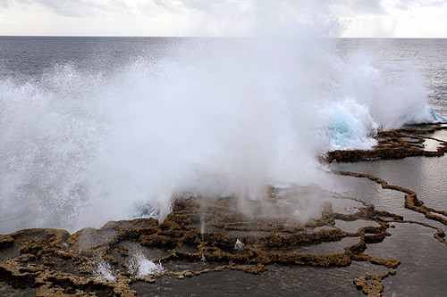 Mapu a Vaea Blowhole photos